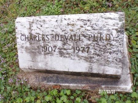 PURDY, CHARLES DEVALL - East Carroll County, Louisiana | CHARLES DEVALL PURDY - Louisiana Gravestone Photos