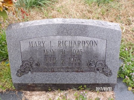 RICHARDSON, MARY - East Carroll County, Louisiana | MARY RICHARDSON - Louisiana Gravestone Photos