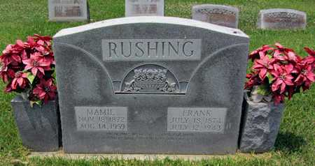 "RUSHING, MARY JOSEPHINE  ""MAMIE"" - East Carroll County, Louisiana | MARY JOSEPHINE  ""MAMIE"" RUSHING - Louisiana Gravestone Photos"