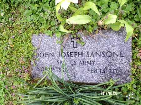 SANSONE , JOHN JOSEPH  (VETERAN) - East Carroll County, Louisiana   JOHN JOSEPH  (VETERAN) SANSONE  - Louisiana Gravestone Photos