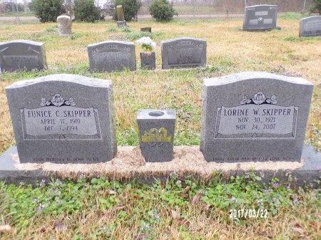 SKIPPER, EUNICE CLYDE - East Carroll County, Louisiana   EUNICE CLYDE SKIPPER - Louisiana Gravestone Photos