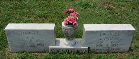 SKIPPER, S A - East Carroll County, Louisiana | S A SKIPPER - Louisiana Gravestone Photos