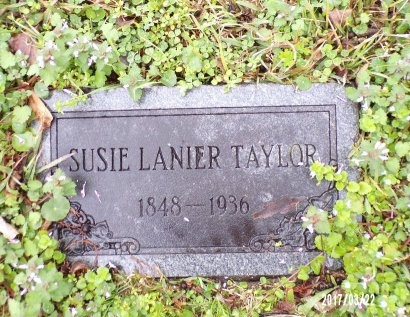 LANIER BROCK TAYLOR, SUSIE - East Carroll County, Louisiana | SUSIE LANIER BROCK TAYLOR - Louisiana Gravestone Photos