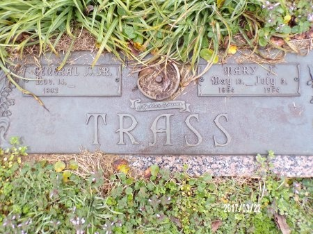 TRASS, GENERAL J., SR - East Carroll County, Louisiana | GENERAL J., SR TRASS - Louisiana Gravestone Photos