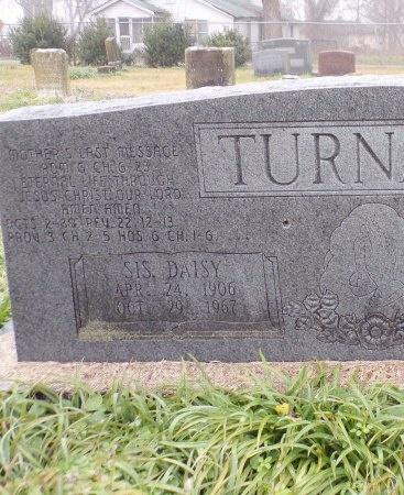 TURNAGE, DAISY (CLOSE UP) - East Carroll County, Louisiana   DAISY (CLOSE UP) TURNAGE - Louisiana Gravestone Photos