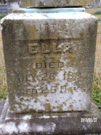 UNKNOWN, ELLA - East Carroll County, Louisiana   ELLA UNKNOWN - Louisiana Gravestone Photos