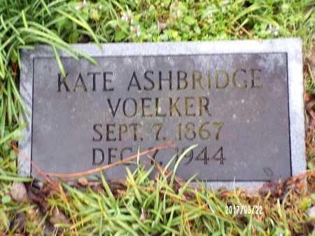 VOELKER, KATE - East Carroll County, Louisiana | KATE VOELKER - Louisiana Gravestone Photos