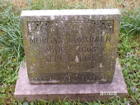 WARREN, MORGAN LUTHER - East Carroll County, Louisiana | MORGAN LUTHER WARREN - Louisiana Gravestone Photos
