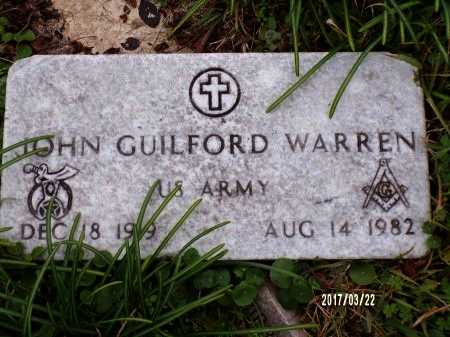 WARREN  , JOHN GUILFORD (VETERAN) - East Carroll County, Louisiana | JOHN GUILFORD (VETERAN) WARREN   - Louisiana Gravestone Photos