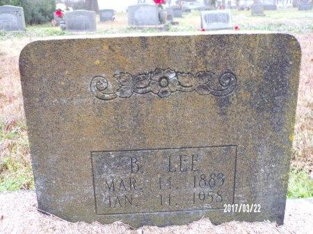 WHATLEY, B LEE (CLOSE UP) - East Carroll County, Louisiana | B LEE (CLOSE UP) WHATLEY - Louisiana Gravestone Photos