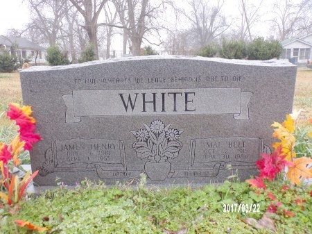 WHITE, JAMES HENRY - East Carroll County, Louisiana | JAMES HENRY WHITE - Louisiana Gravestone Photos