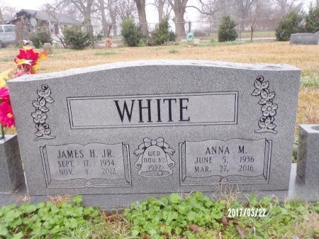 WHITE, ANNA MAE - East Carroll County, Louisiana | ANNA MAE WHITE - Louisiana Gravestone Photos