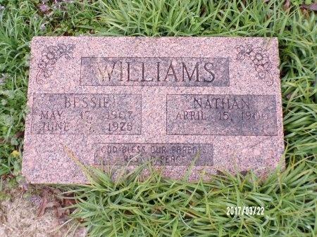 WILLIAMS, BESSIE - East Carroll County, Louisiana | BESSIE WILLIAMS - Louisiana Gravestone Photos