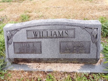 WILLIAMS, C ADRON - East Carroll County, Louisiana | C ADRON WILLIAMS - Louisiana Gravestone Photos