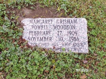WOODSON, MARGARET - East Carroll County, Louisiana | MARGARET WOODSON - Louisiana Gravestone Photos