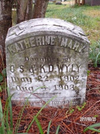 WYLY, KATHERINE MARY - East Carroll County, Louisiana | KATHERINE MARY WYLY - Louisiana Gravestone Photos