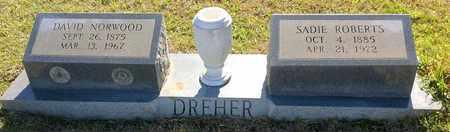 ROBERTS DREHER, SADIE - East Feliciana County, Louisiana | SADIE ROBERTS DREHER - Louisiana Gravestone Photos
