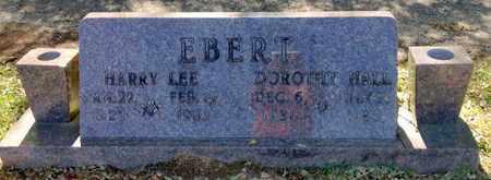EBERT, HARRY LEE - East Feliciana County, Louisiana | HARRY LEE EBERT - Louisiana Gravestone Photos