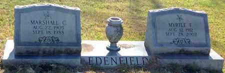 EDENFIELD, MARSHALL C - East Feliciana County, Louisiana | MARSHALL C EDENFIELD - Louisiana Gravestone Photos