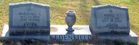 STRACENER EDENFIELD, MYRTLE FRANCES - East Feliciana County, Louisiana | MYRTLE FRANCES STRACENER EDENFIELD - Louisiana Gravestone Photos
