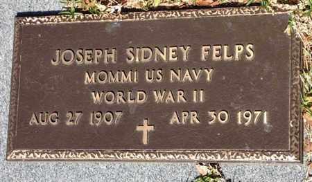 FELPS, JOSEPH SIDNEY (VETERAN WWII) - East Feliciana County, Louisiana | JOSEPH SIDNEY (VETERAN WWII) FELPS - Louisiana Gravestone Photos