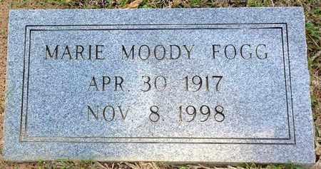MOODY FOGG, MARIE - East Feliciana County, Louisiana   MARIE MOODY FOGG - Louisiana Gravestone Photos