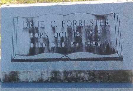 CRAWFORD FORRESTER, DRUE (CLOSEUP) - East Feliciana County, Louisiana | DRUE (CLOSEUP) CRAWFORD FORRESTER - Louisiana Gravestone Photos