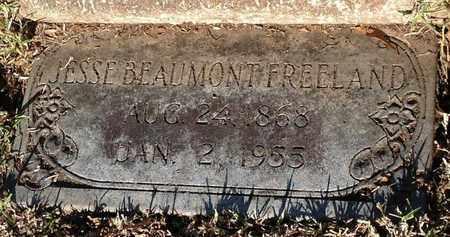 FREELAND, JESSE BEAUMONT - East Feliciana County, Louisiana | JESSE BEAUMONT FREELAND - Louisiana Gravestone Photos
