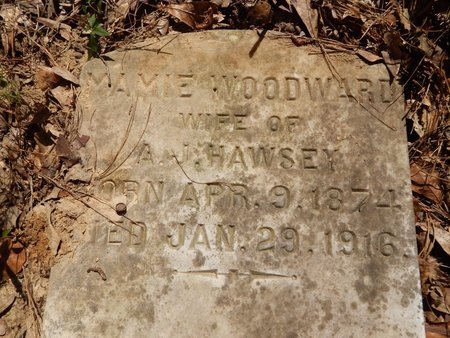 HAWSEY, MAMIE - East Feliciana County, Louisiana | MAMIE HAWSEY - Louisiana Gravestone Photos