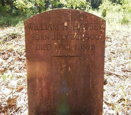 HAWSEY, WILLIAM H - East Feliciana County, Louisiana | WILLIAM H HAWSEY - Louisiana Gravestone Photos