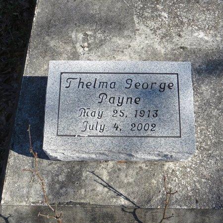 PAYNE, THELMA - East Feliciana County, Louisiana | THELMA PAYNE - Louisiana Gravestone Photos