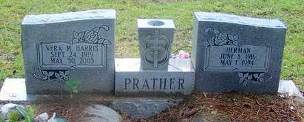 PRATHER, VERA M - Evangeline County, Louisiana | VERA M PRATHER - Louisiana Gravestone Photos