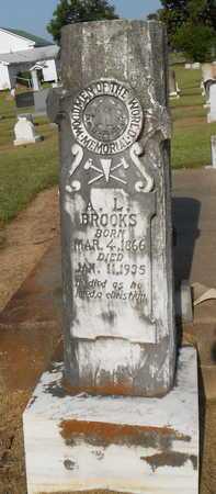 BROOKS, A L - Franklin County, Louisiana | A L BROOKS - Louisiana Gravestone Photos