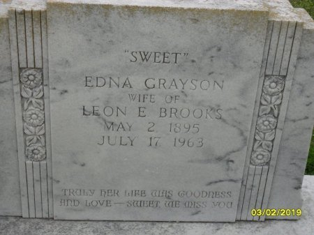 "BROOKS, EDNA ""SWEET"" (CLOSE UP) - Franklin County, Louisiana 