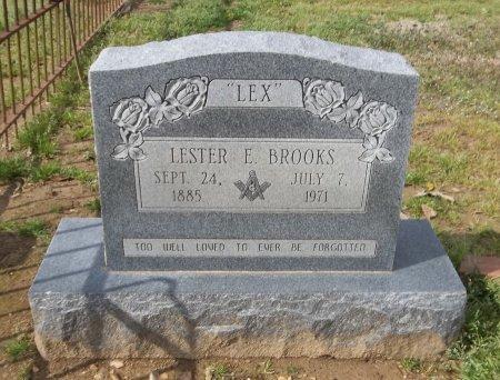 "BROOKS, LESTER E ""LEX"" - Franklin County, Louisiana   LESTER E ""LEX"" BROOKS - Louisiana Gravestone Photos"
