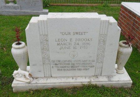 "BROOKS, LEON E ""OUR SWEET"" - Franklin County, Louisiana | LEON E ""OUR SWEET"" BROOKS - Louisiana Gravestone Photos"