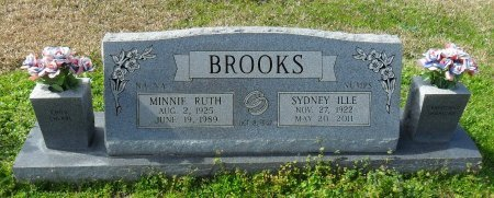 "BROOKS, MINNIE RUTH ""NA NA"" - Franklin County, Louisiana   MINNIE RUTH ""NA NA"" BROOKS - Louisiana Gravestone Photos"