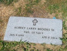 BROOKS  , AUBREY LARRY, SR (VETERAN) - Franklin County, Louisiana | AUBREY LARRY, SR (VETERAN) BROOKS   - Louisiana Gravestone Photos