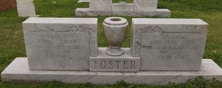 FOSTER, JOHN ERNEST - Franklin County, Louisiana | JOHN ERNEST FOSTER - Louisiana Gravestone Photos