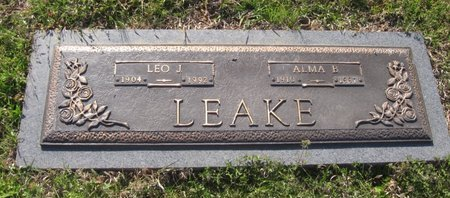 EDWARDS LEAKE, ALMA BEATRICE - Franklin County, Louisiana | ALMA BEATRICE EDWARDS LEAKE - Louisiana Gravestone Photos