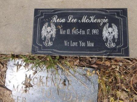 MCKENZIE, ROSA LEE (CLOSE UP) - Franklin County, Louisiana   ROSA LEE (CLOSE UP) MCKENZIE - Louisiana Gravestone Photos