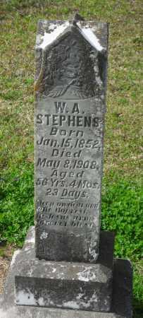STEPHENS, WILLIAM A - Franklin County, Louisiana | WILLIAM A STEPHENS - Louisiana Gravestone Photos
