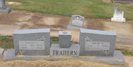 TRAHERN, SARAH M. - Franklin County, Louisiana | SARAH M. TRAHERN - Louisiana Gravestone Photos