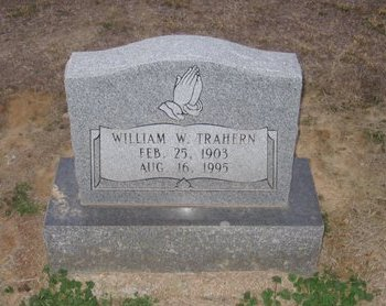 TRAHERN, WILLIAM WALLACE - Franklin County, Louisiana | WILLIAM WALLACE TRAHERN - Louisiana Gravestone Photos