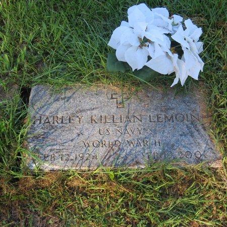 LEMOINE, HARLEY KILLIAN (VETERAN WW II) - Grant County, Louisiana | HARLEY KILLIAN (VETERAN WW II) LEMOINE - Louisiana Gravestone Photos