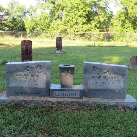 LEMOINE, BENJAMIN HENRY - Grant County, Louisiana | BENJAMIN HENRY LEMOINE - Louisiana Gravestone Photos