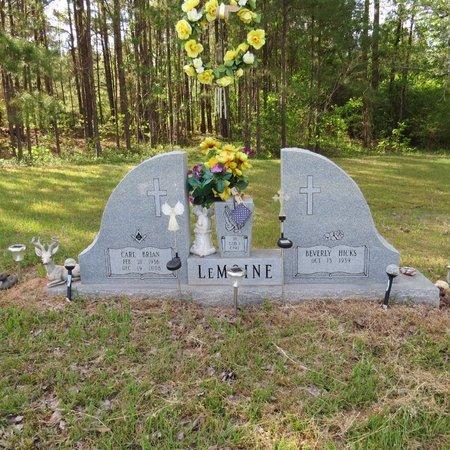 LEMOINE, CARL BRIAN - Grant County, Louisiana | CARL BRIAN LEMOINE - Louisiana Gravestone Photos