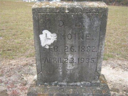 LEMOINE, D L - Grant County, Louisiana   D L LEMOINE - Louisiana Gravestone Photos