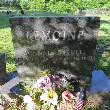 LEMOINE, JOHNNIE DARNELL - Grant County, Louisiana | JOHNNIE DARNELL LEMOINE - Louisiana Gravestone Photos