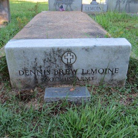 LEMOINE, DENNIS BREW, SR  (VETERAN) - Grant County, Louisiana | DENNIS BREW, SR  (VETERAN) LEMOINE - Louisiana Gravestone Photos